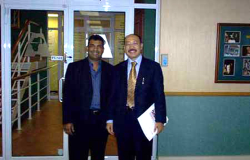 Indian Consul visits ACCORD