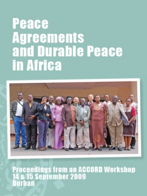 ACCORD - Report - Peace Agreements and Durable Peace in Africa