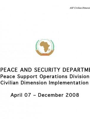 ACCORD - Report - ASF Civilian Dimension Implementation Plan