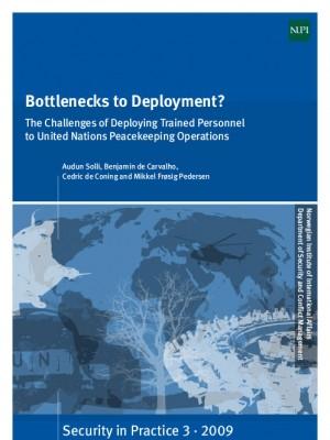 ACCORD - Report - Bottlenecks to deployment