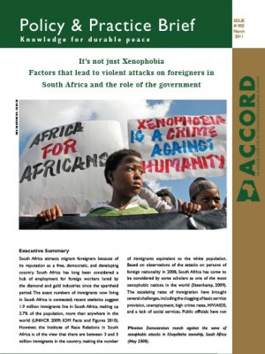 ACCORD - PPB - 5 - Its not just Xenophobia