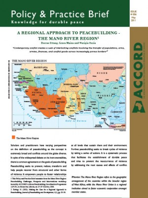 ACCORD - PPB - 6 - A Regional Approach to Peacebuilding
