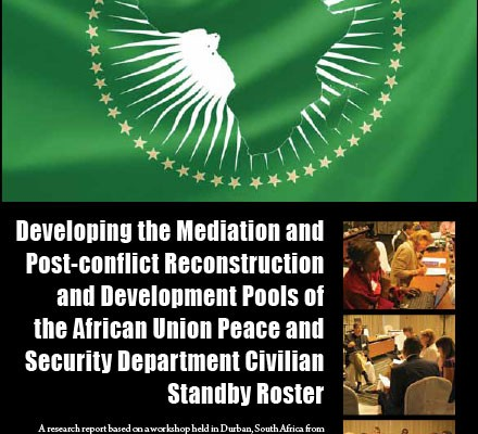 ACCORD - Report - Developing the Mediation and Post-conflict Reconstruction