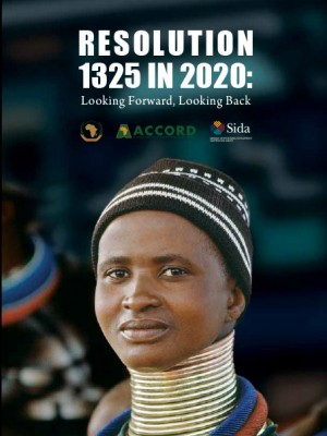 ACCORD - Report - Resolution 1325 in 2020