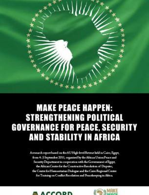 ACCORD - Report - Make peace happen