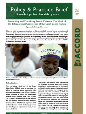 ACCORD - PPB - 17 - Preventing and Punishing Sexual Violence