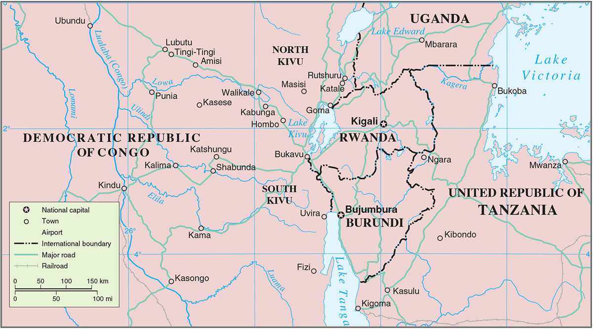 The peace process in the DRC