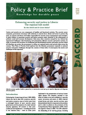 ACCORD - PPB - 23 - Enhancing security and justice in Liberia