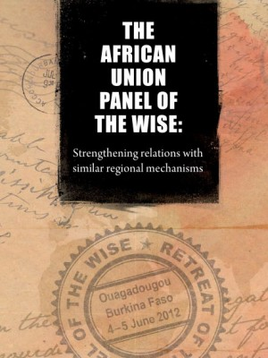 ACCORD - Report - The African Union Panel of the Wise