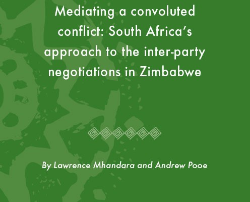 ACCORD - Occasional Paper - 2013-1 - Mediating a convoluted conflict
