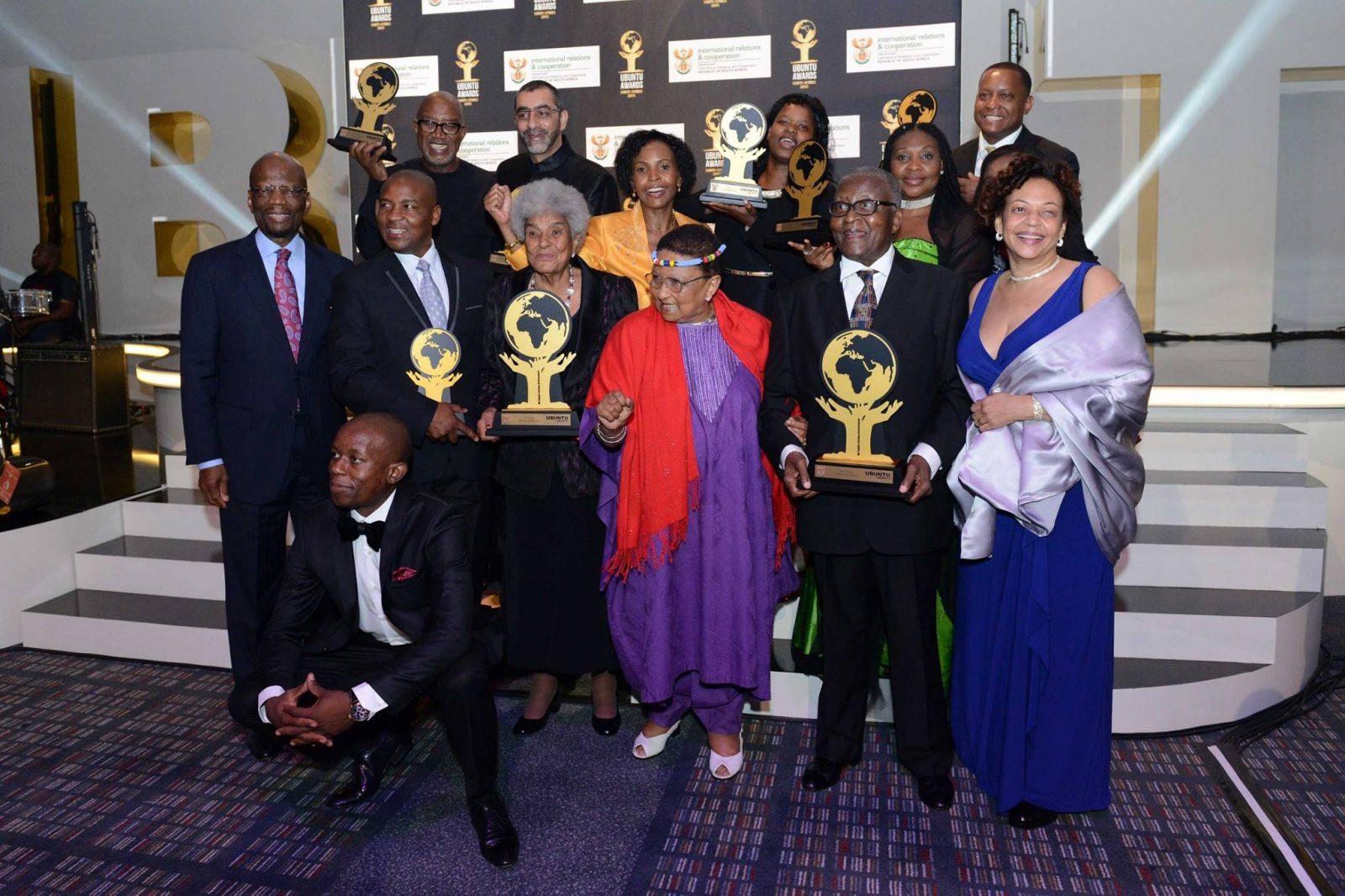 ACCORD Trustee Ambassador Modise recognized at the inaugural Ubuntu Awards