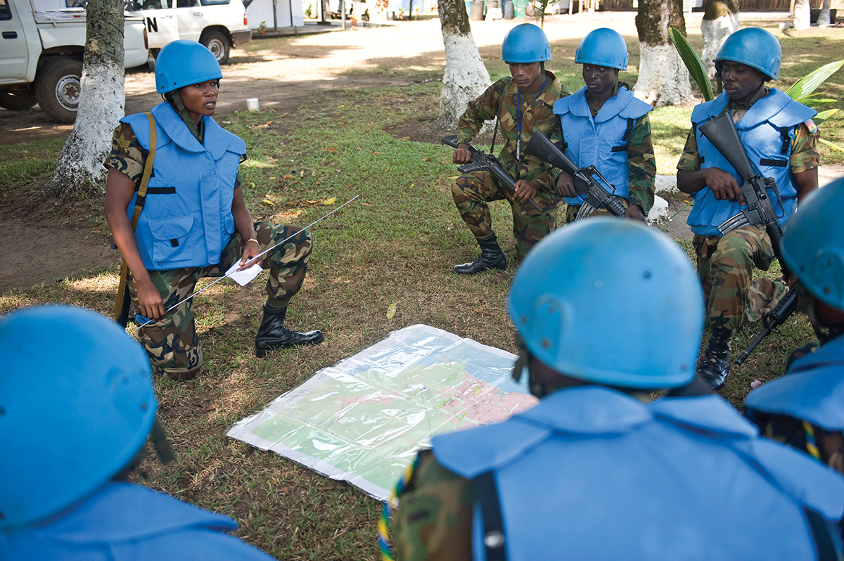 The Training for Peace Programme's Contribution to Gender Mainstreaming in Africa's Peace Operations