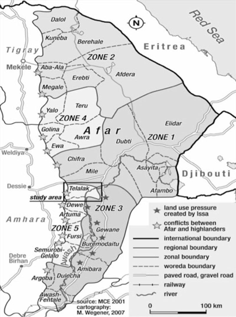 Formal and informal land tenure systems in Afar region