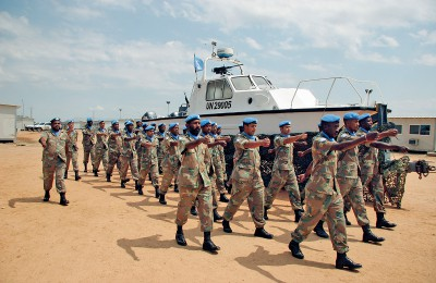 CONTRIBUTING TO AFRICA'S PEACEKEEPING CAPACITY
