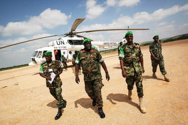 AMISOM-Force-Commander-Visits-Troops-in-Beledweyne-Somalia