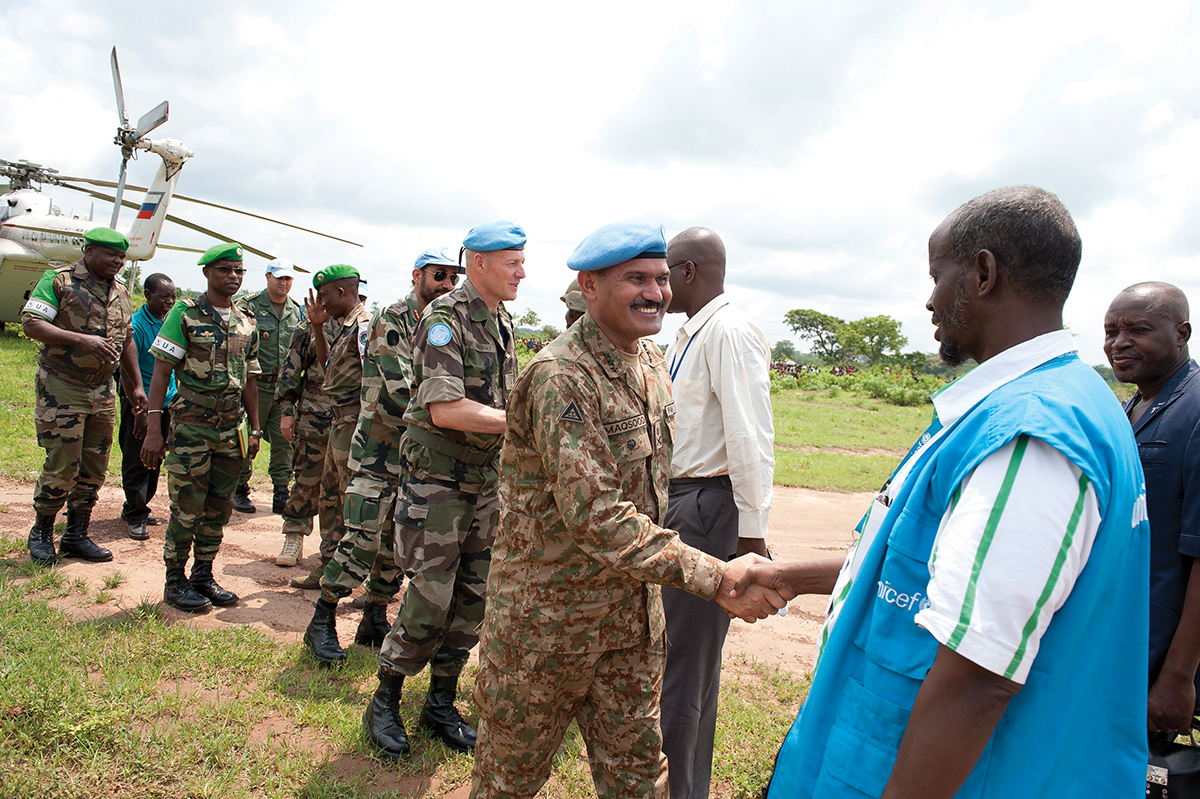 Development of Civilian Capacities for African Peace Support Operations