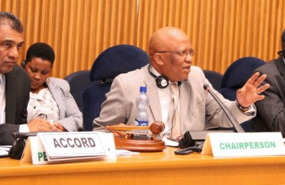ACCORDS EXECUTIVE DIRECTOR PRESENTS TO THE AU PEACE AND SECURITY COUNCIL ON EARLY WARNING SYSTEMS