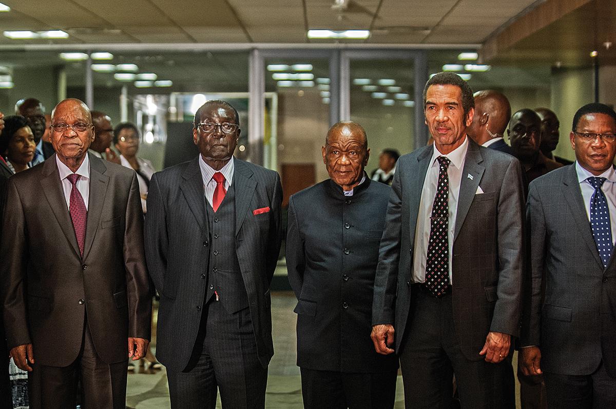 SAFRICA-LESOTHO-DIPLOMACY-SADC