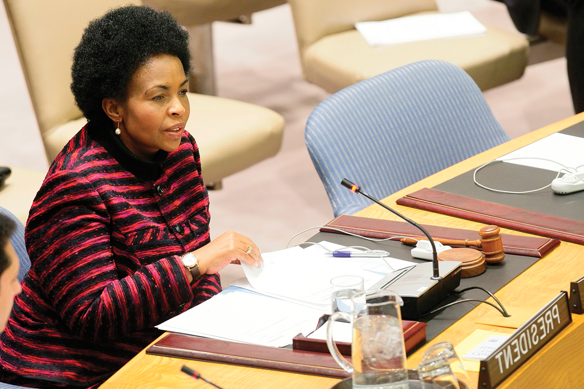 Security Council Meeting on the situation in Sudan.