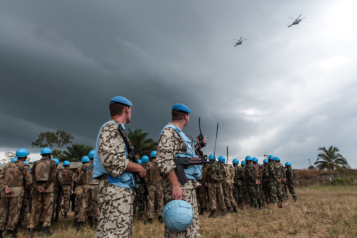 UNMIL Force Rapid Reaction Exercise