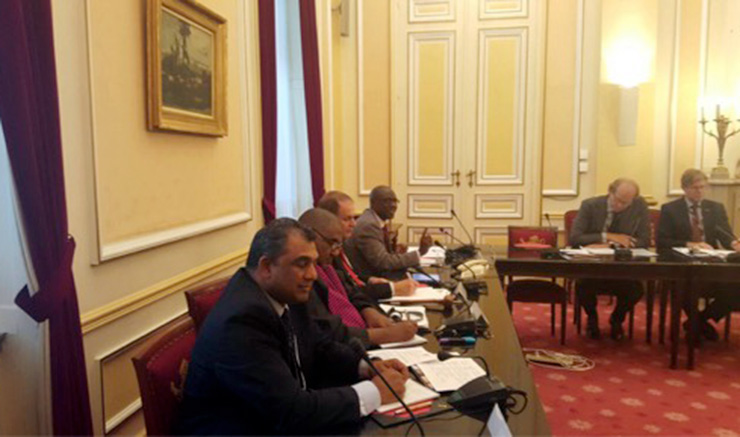 ACCORDs Executive Director participates in AWEPA Seminar at Belgian Parliament on violence and extremism 1