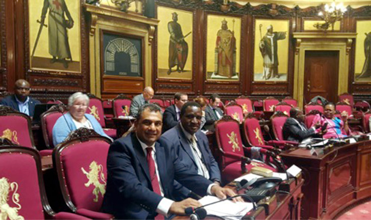 ACCORDs Executive Director participates in AWEPA Seminar at Belgian Parliament on violence and extremism 2