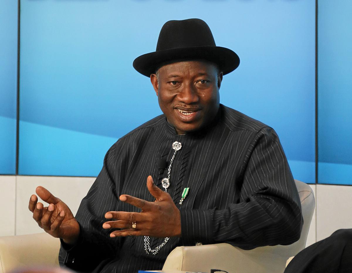 De-risking Africa: Goodluck Ebele Jonathan