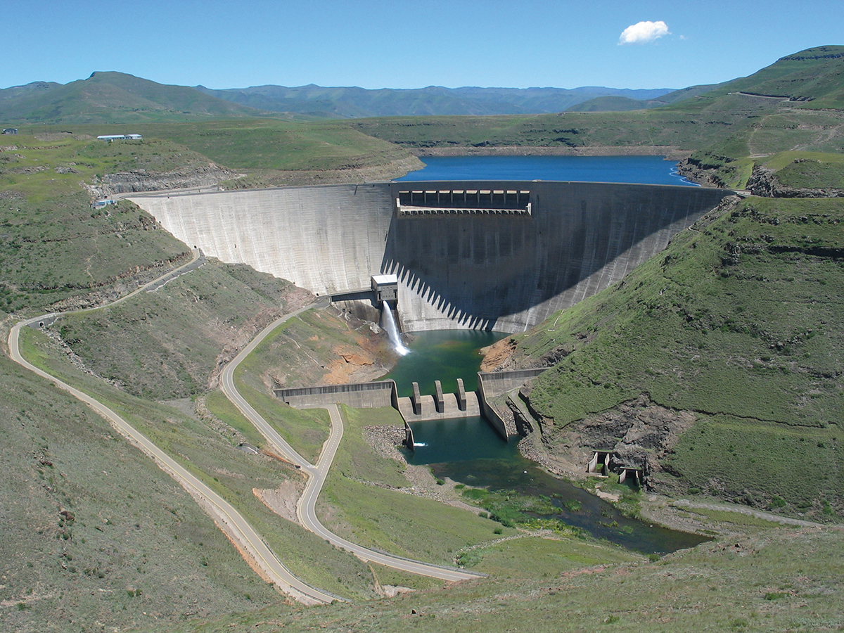 Katse_Dam, Lesotho, Africa
