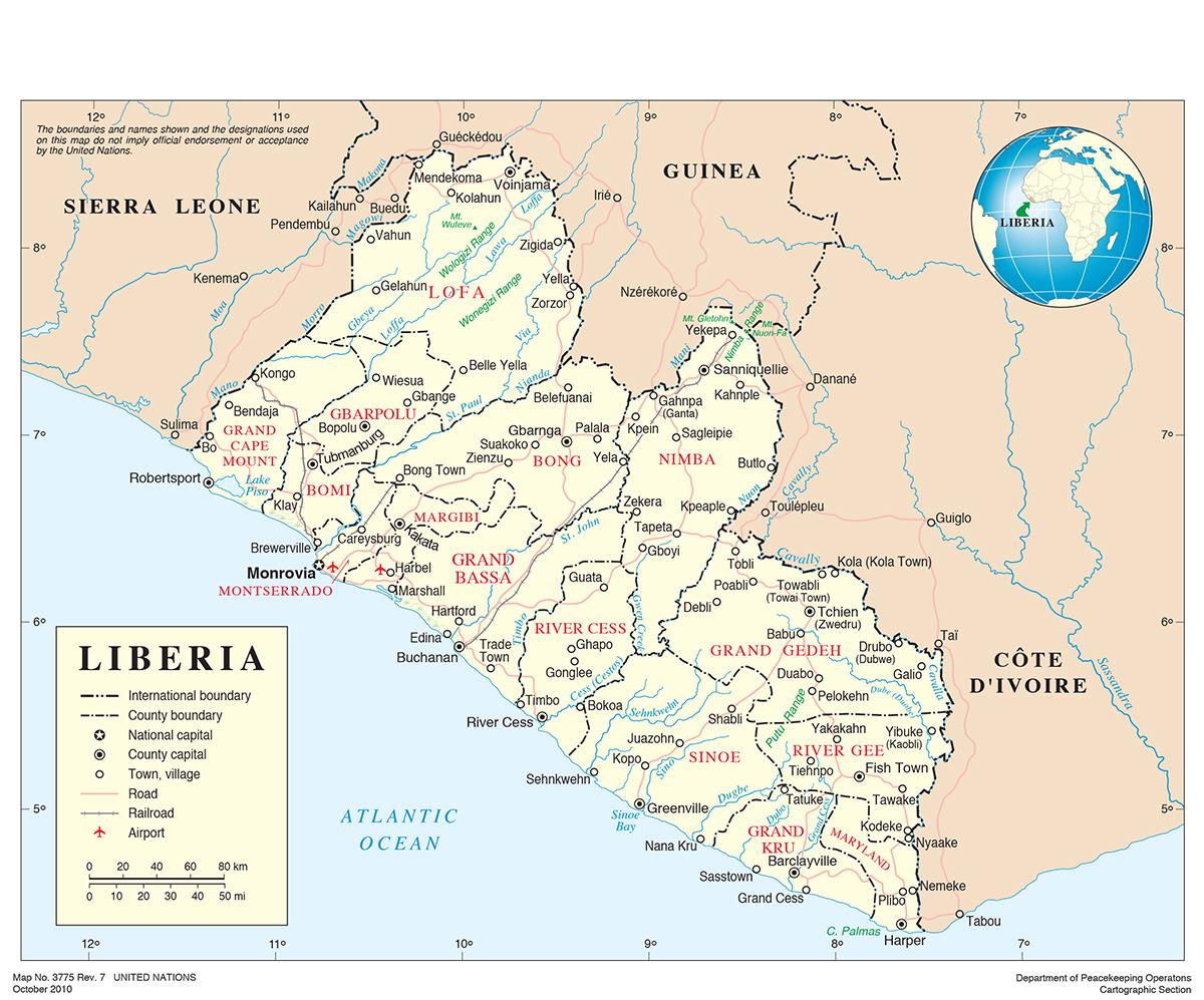 liberia ion
