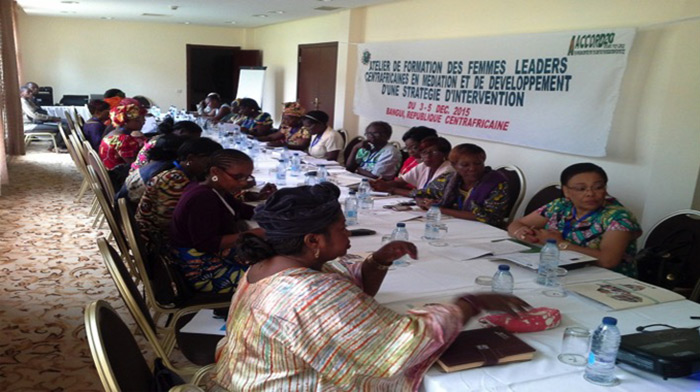ACCORD facilitates a workshop for women leaders in Central African Republic on mediation and negotiation