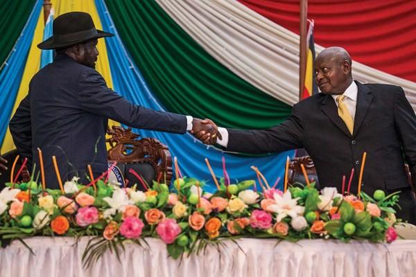 South Sudan Uganda Relations