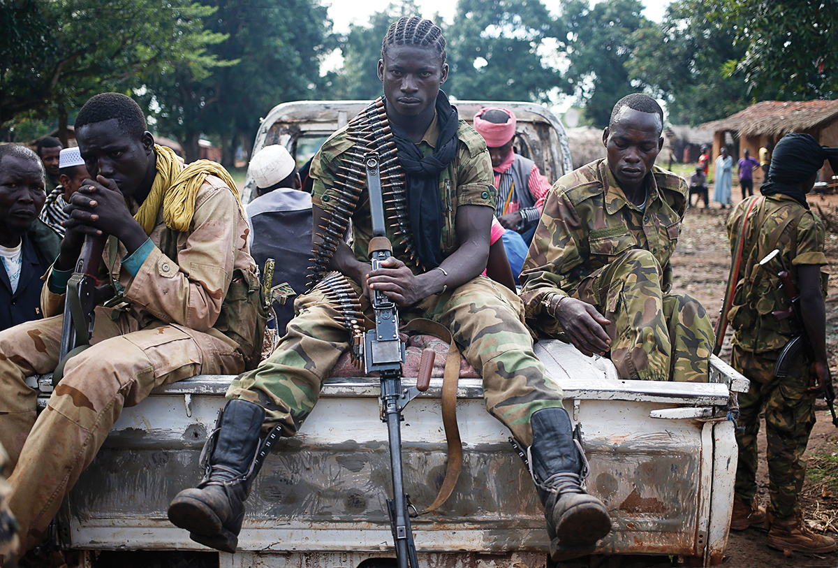 Seleka fighters
