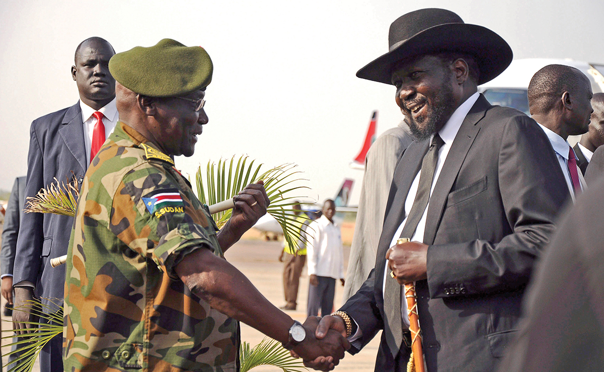 South Sudan's President