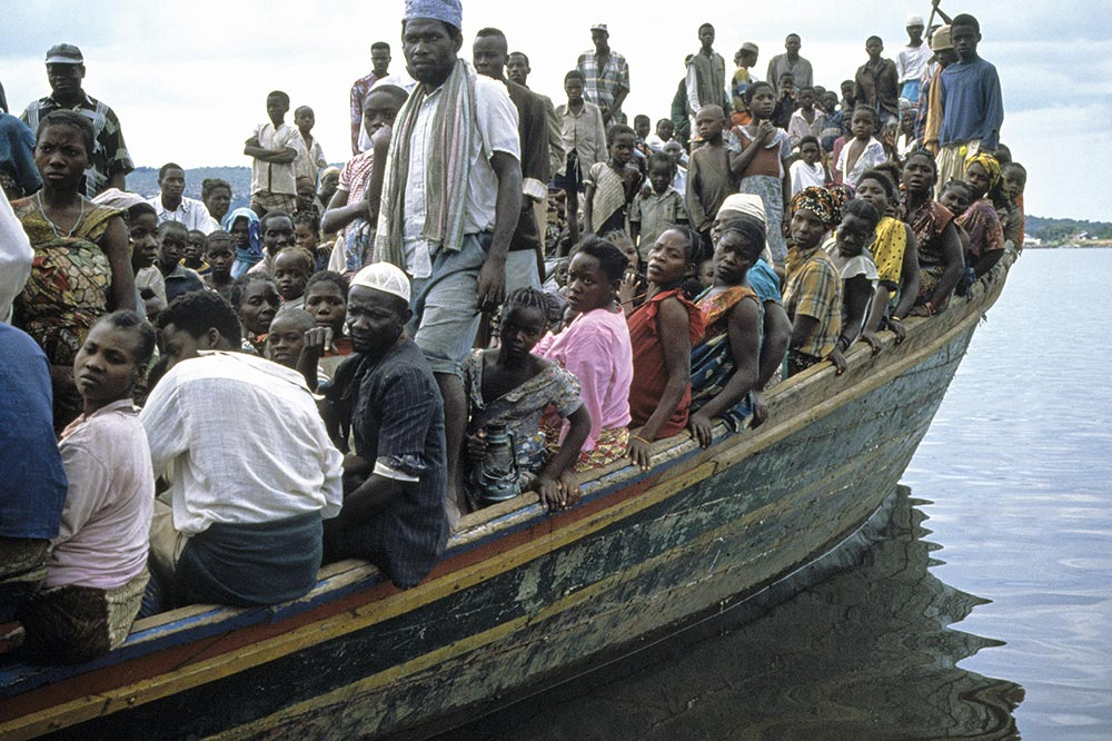 boatload of refugees