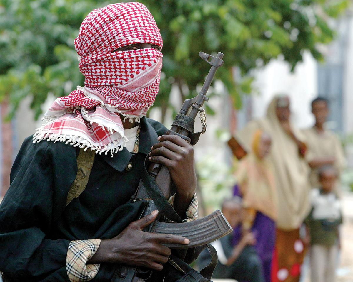 Somali gunman
