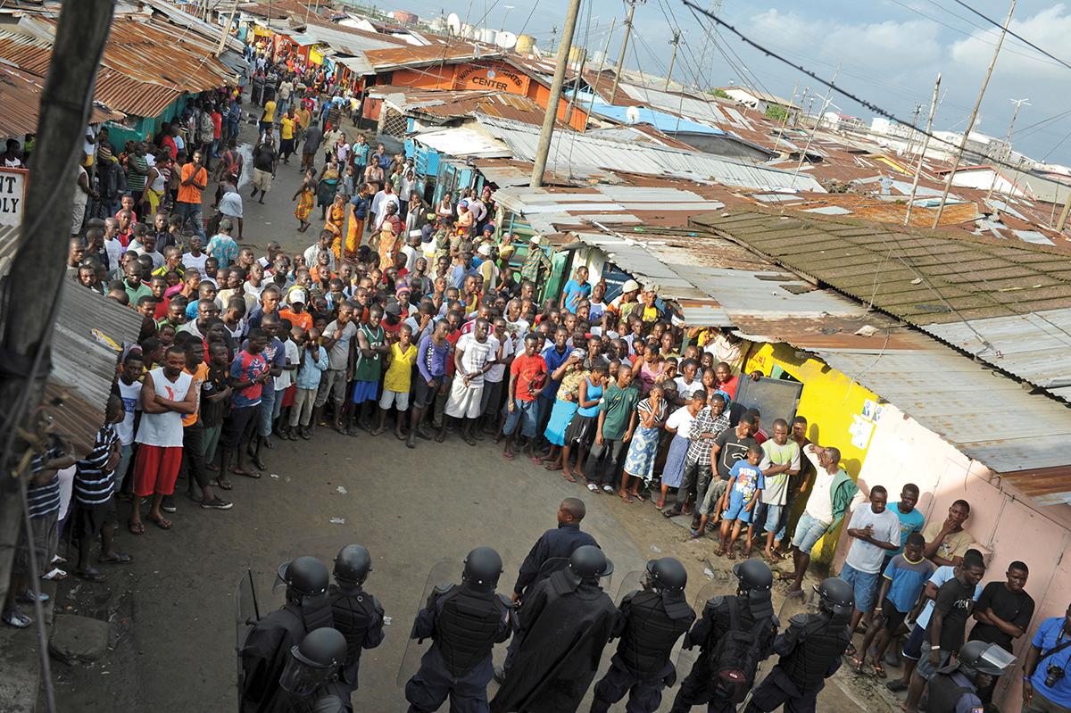 Liberian security