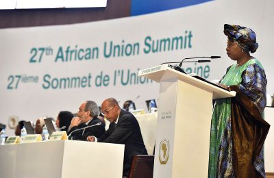 The 27th African Union (AU) Summit held in Kigali, Rwanda, resulted in the approval of a new funding model for the AU Peace Fund that has been heralded as a landmark move for African solutions to African problems (July 2016). (GOVERNMENTZA)