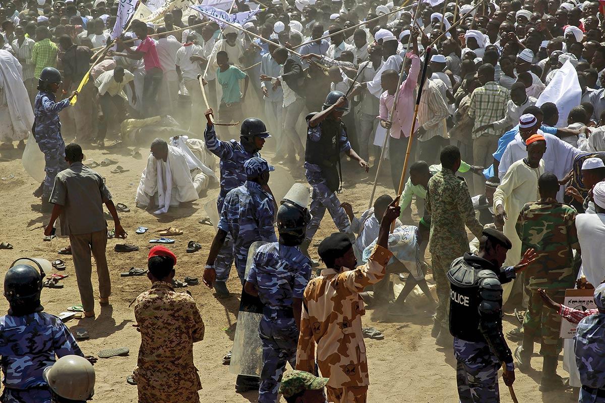 Ethnic group conflict sudan