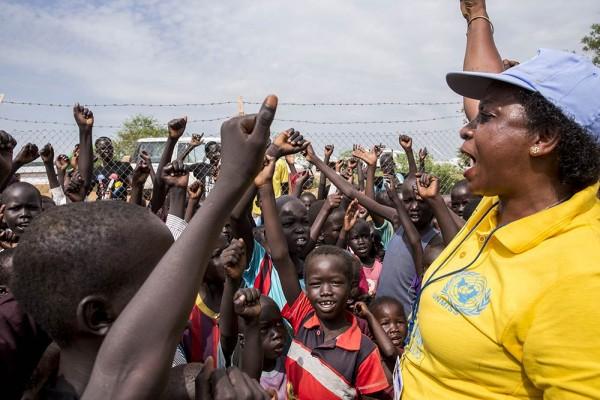POC Site 3 in Juba