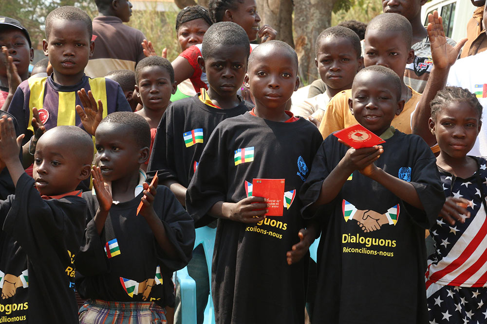 Youth day in Central African Republic