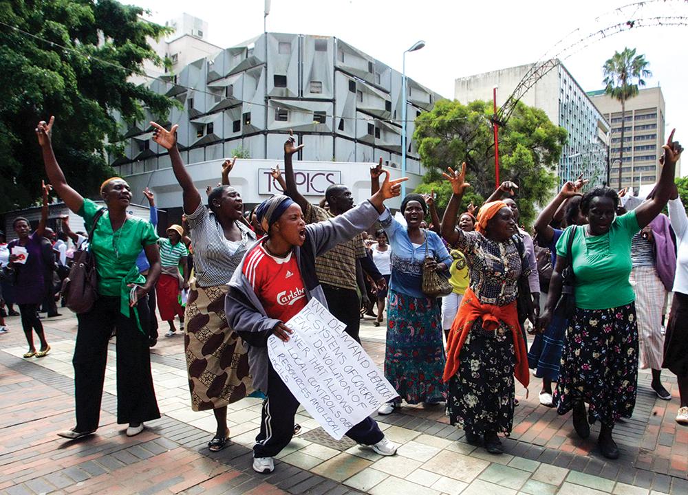 Members of Women Arise Of Zimbabwe