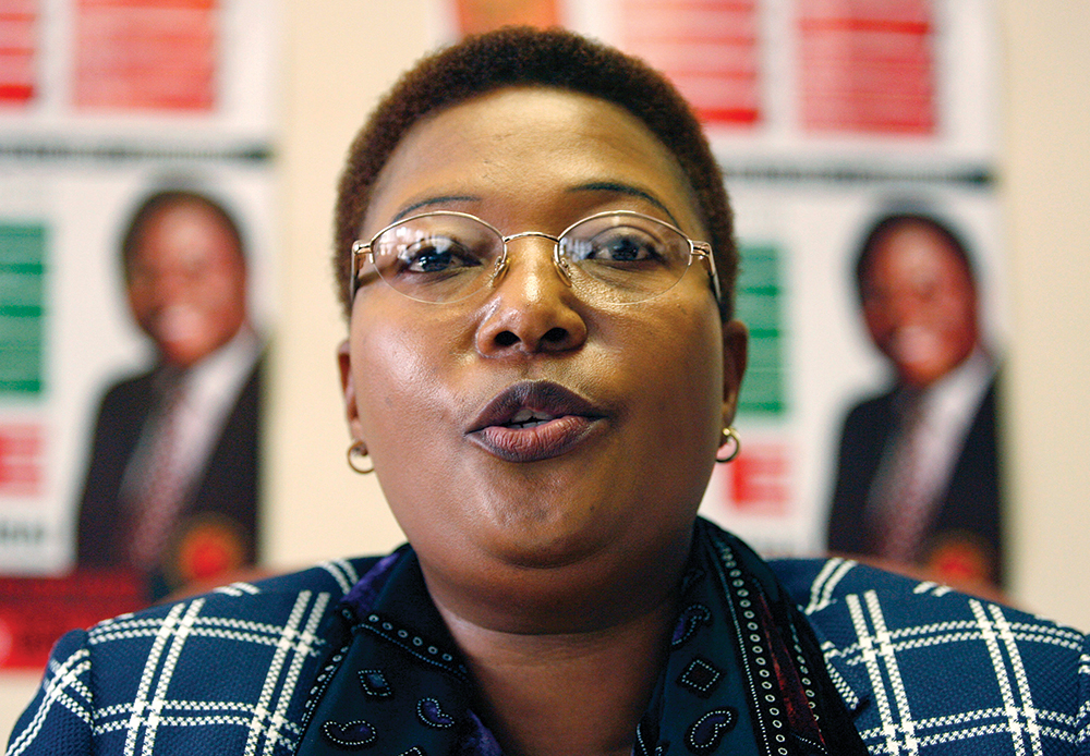 Opposition Party Vice President Thokozani Khupe