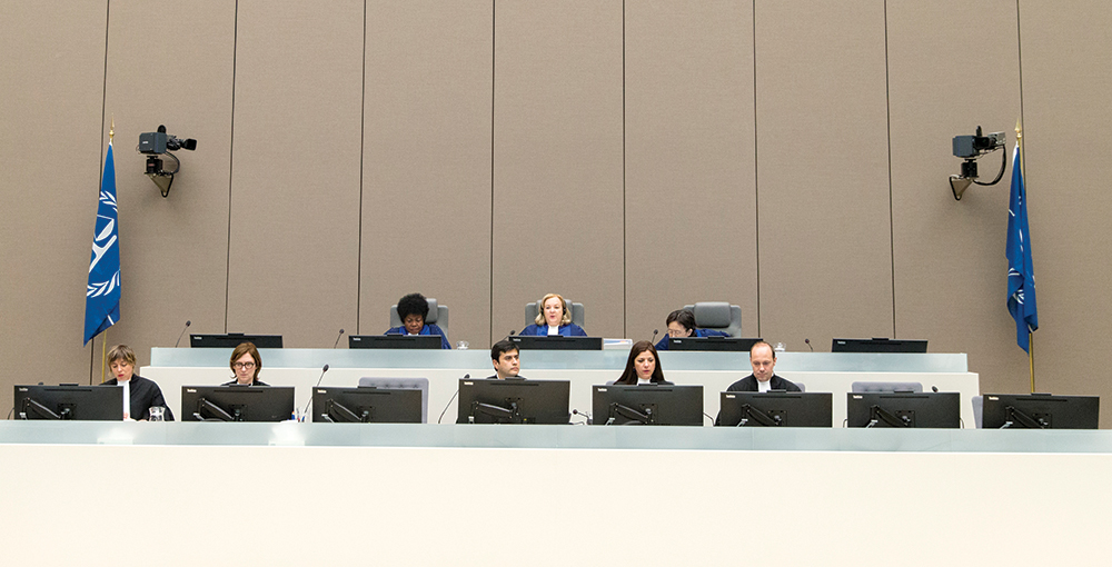 Court Room Of The ICC