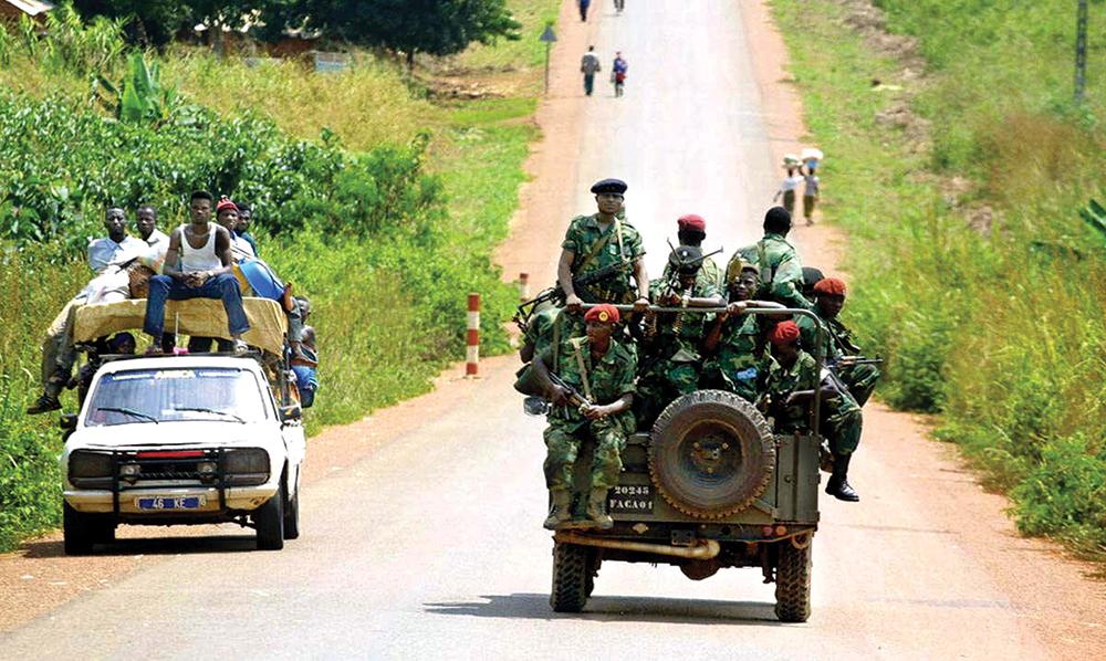 Banyamulengue Soldiers