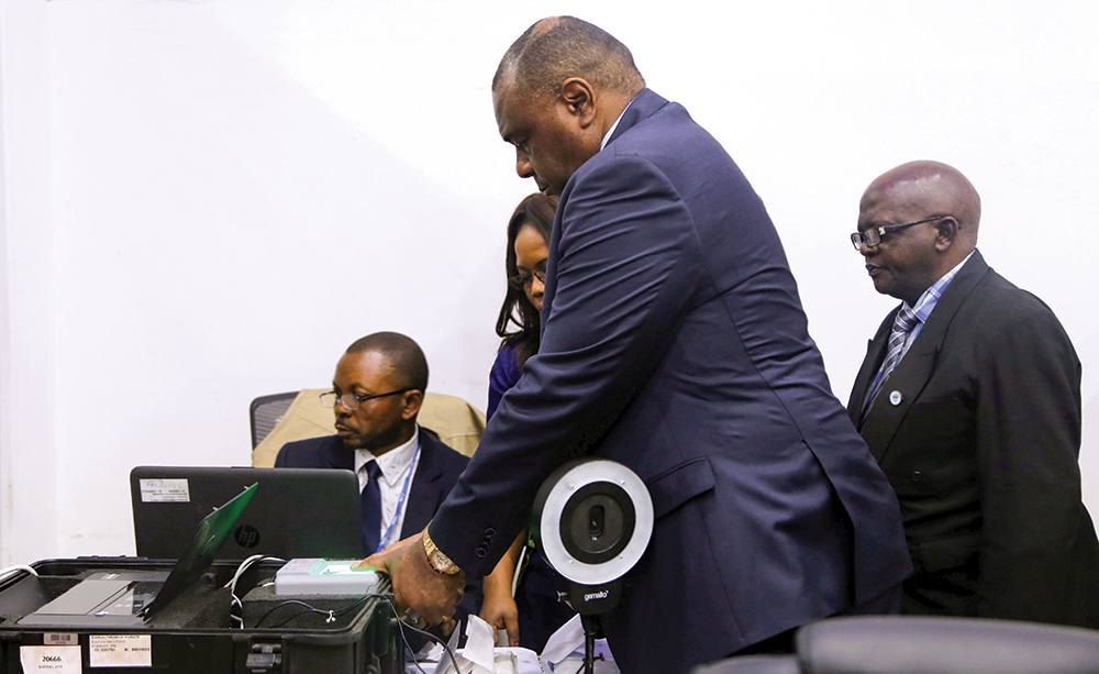 Bemba Files His Candidacy For Presidential Election