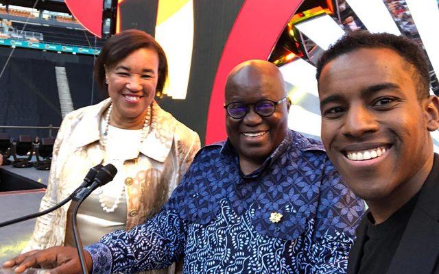 Nana Akufo-Addo Announces Global Peace