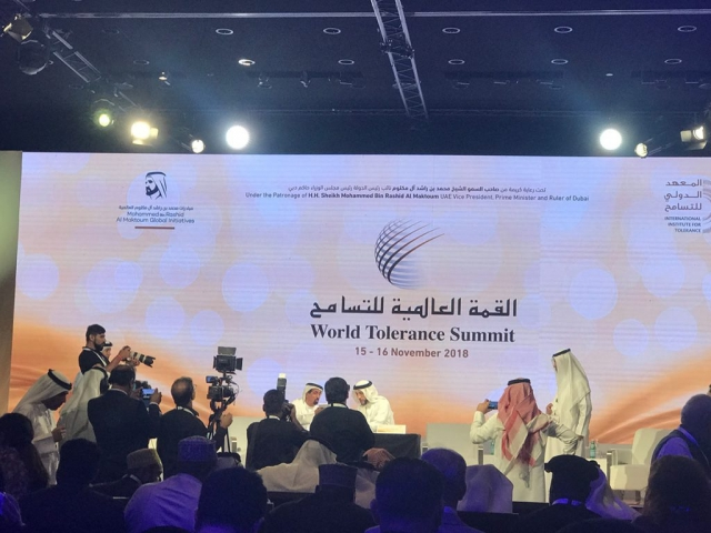 ACCORD attends World Tolerance Summit in Dubai