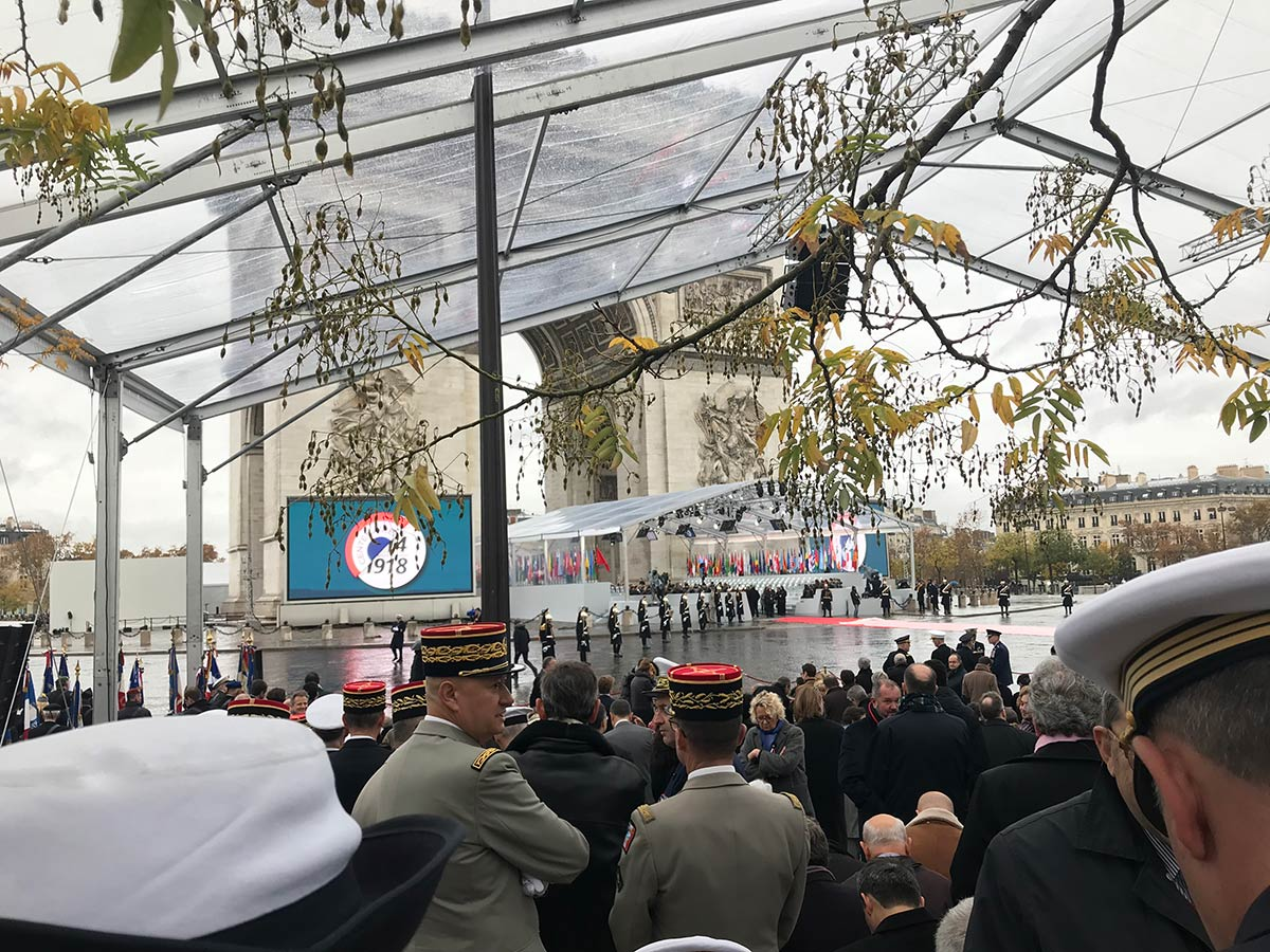 ACCORD at the Centenary anniversary of WWI Armistice in Paris
