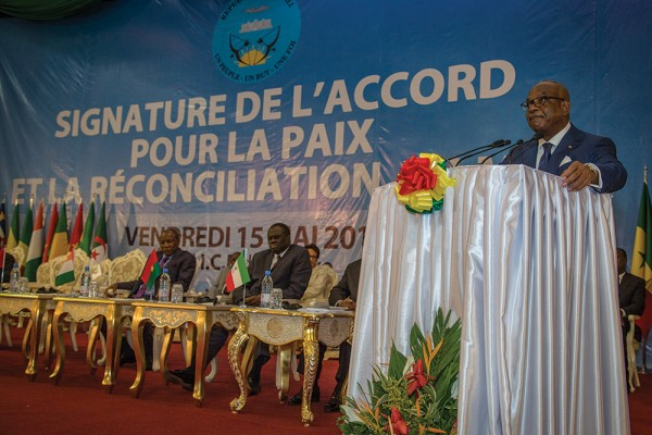 Ceremony of Signature of Peace Agreement In Mali