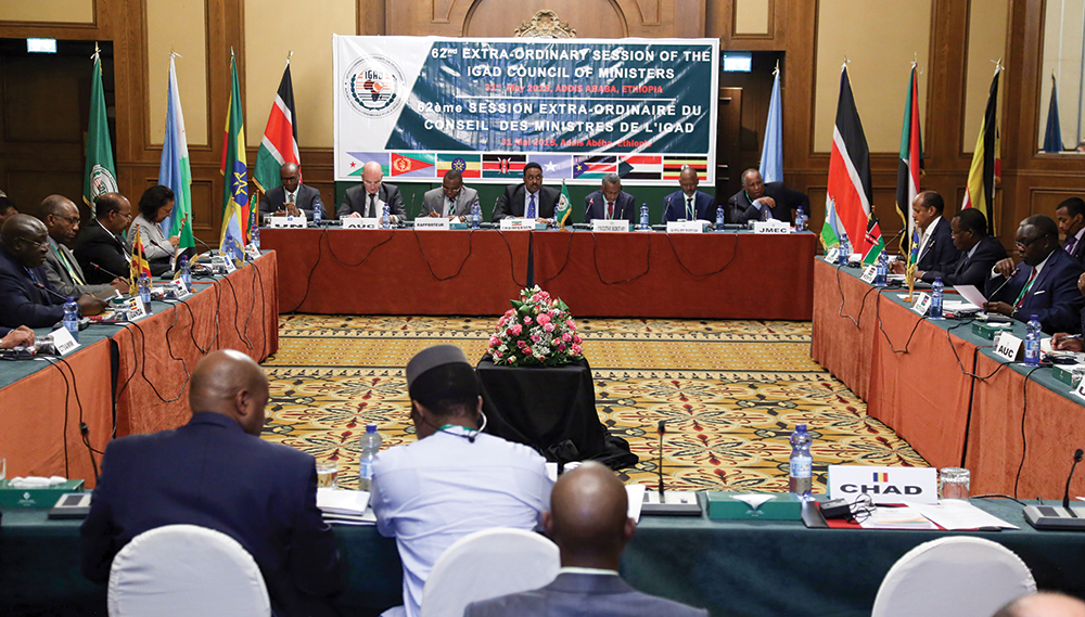 Intergovernmental Authority On Development Meeting in Ethiopia